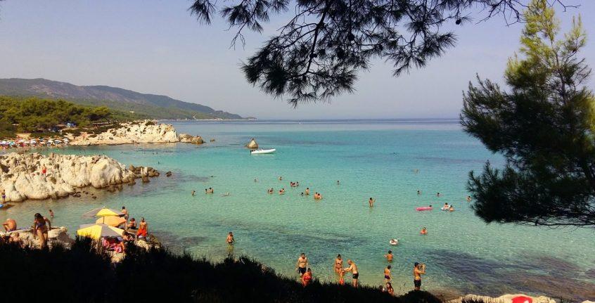 Private beach wedding in Chalkidiki