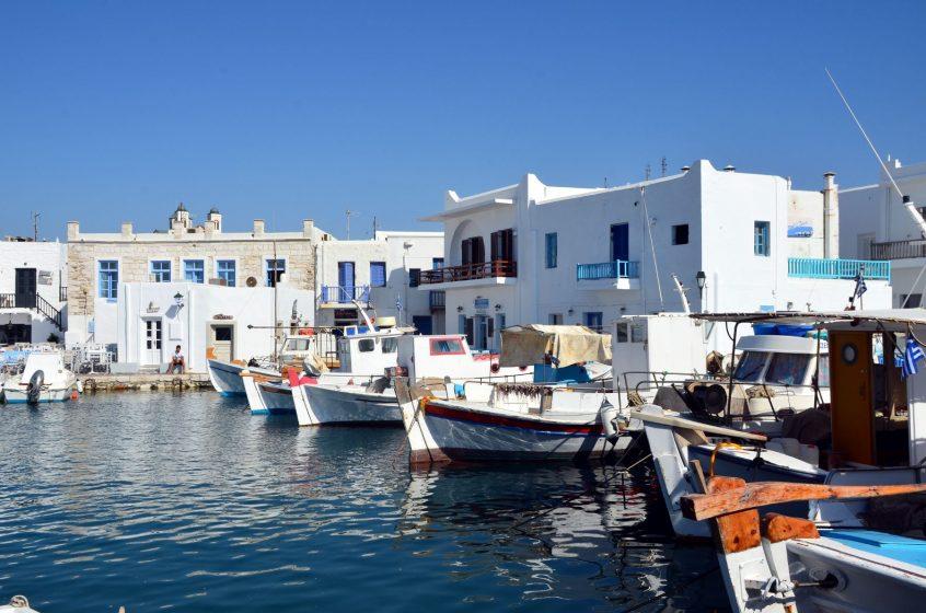 Paros Greece port