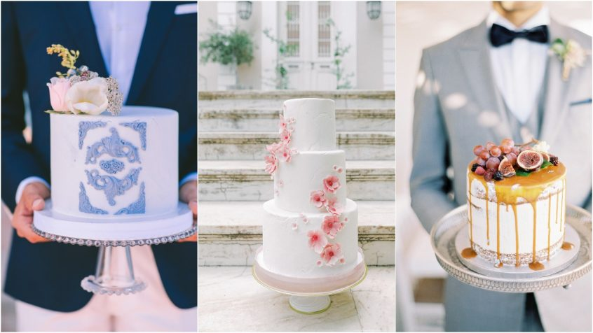 3 wedding cake ideas