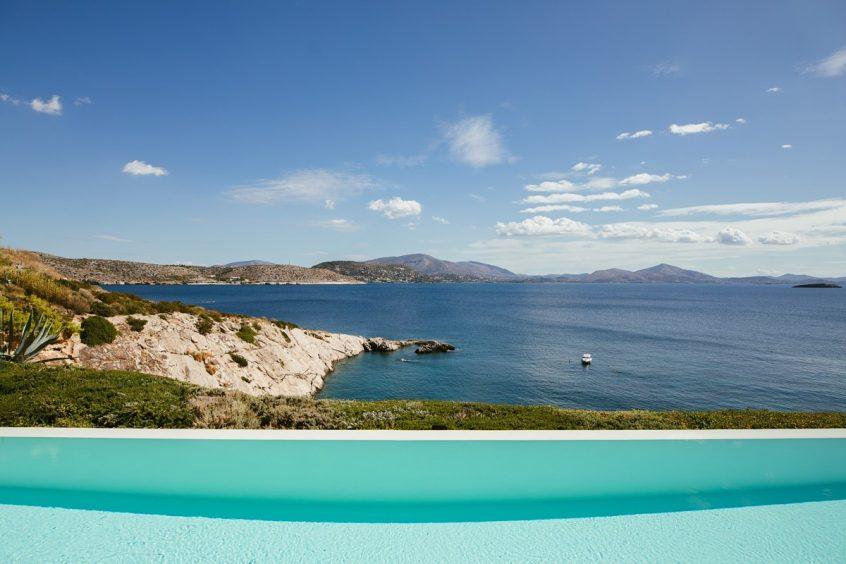 Athenian Riviera view of sea