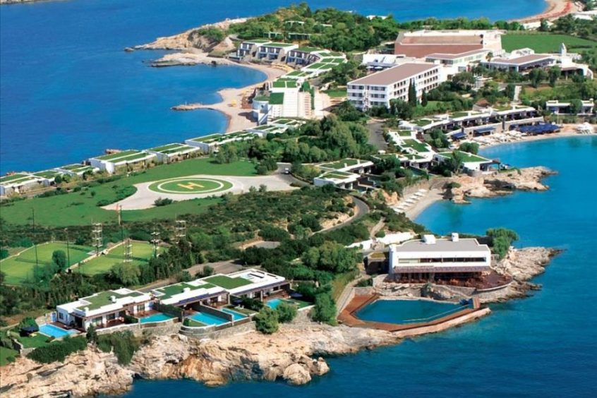 wedding venues in Athens resort and sea