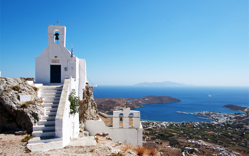 View of Serifos