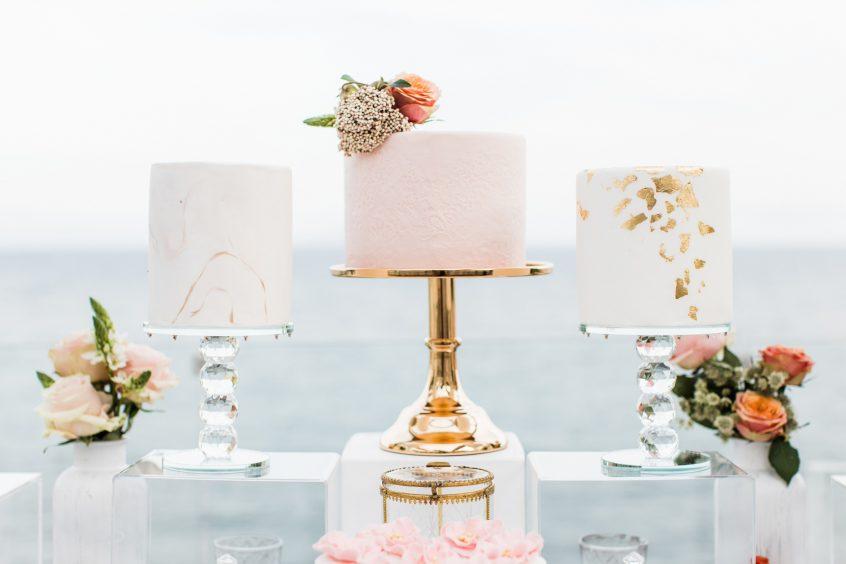 Wedding cake and desserts