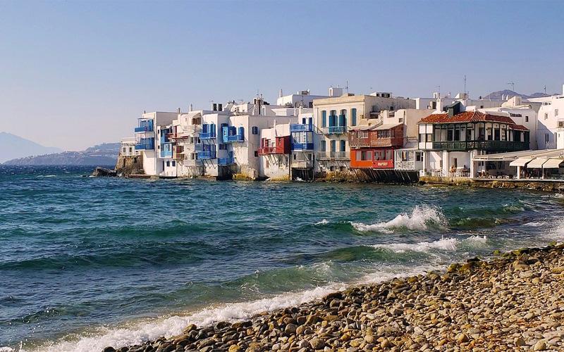 Greek islands weddings Mykonos