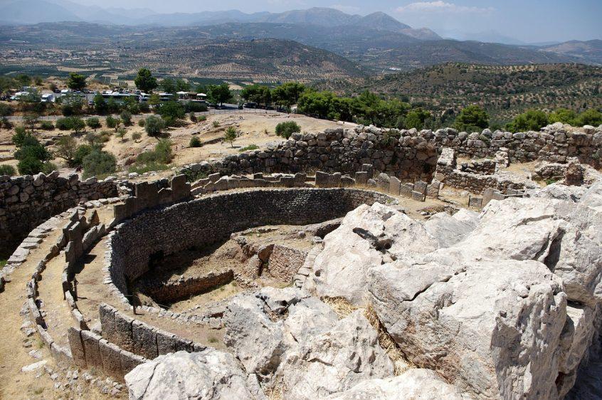 Excavation site Greece