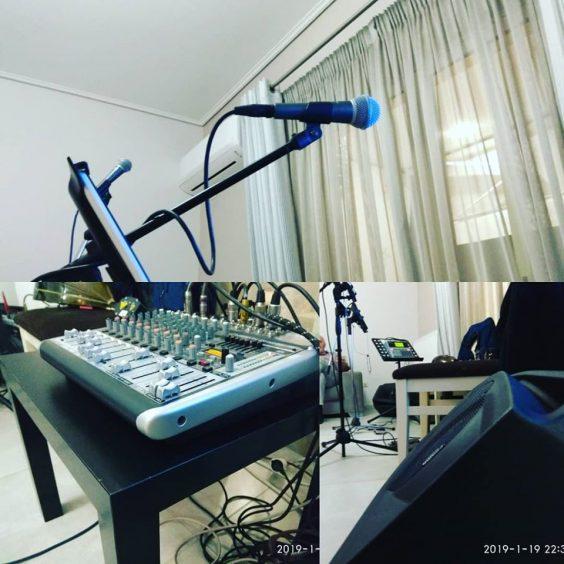 Orxistralive wedding band musical instruments setup