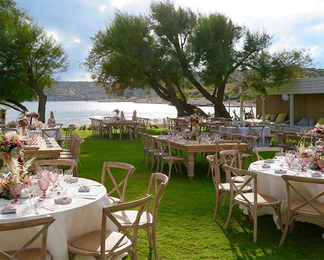 Wedding reception at Reef Athens Riviera
