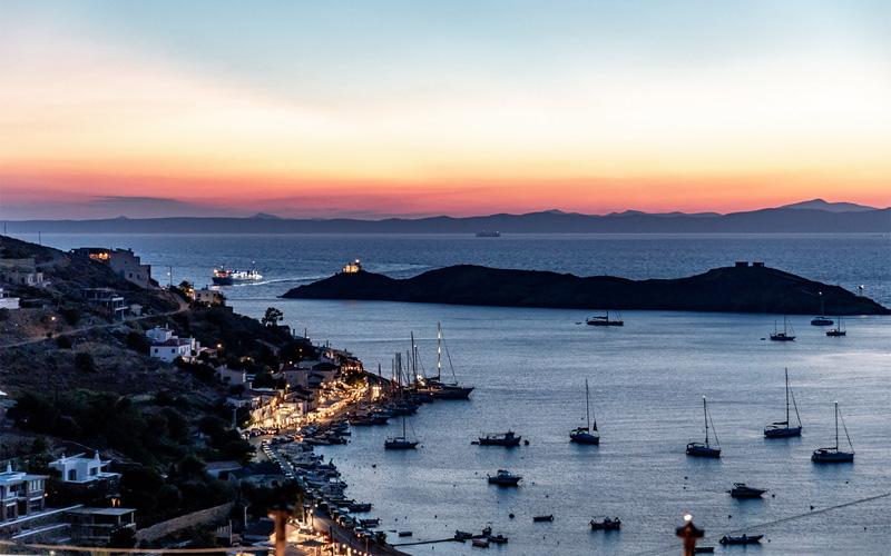 Sea Sunset in Kea